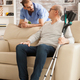 Male doctor with stethoscope in nursing home - PhotoDune Item for Sale