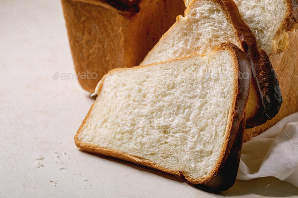 Hokkaido wheat bread - Stock Photo - Images