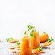 Carrot smoothie or juice with linen seeds, healthy and useful drink - PhotoDune Item for Sale