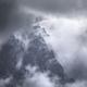 dramatic storm clouds around rocks - PhotoDune Item for Sale