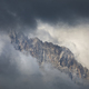 mountain peaks in clouds - PhotoDune Item for Sale