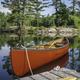 Canoe on Ontario lake - PhotoDune Item for Sale