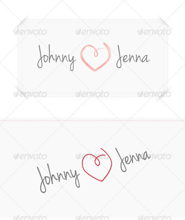 Love Celebration - Symbols Logo Templates