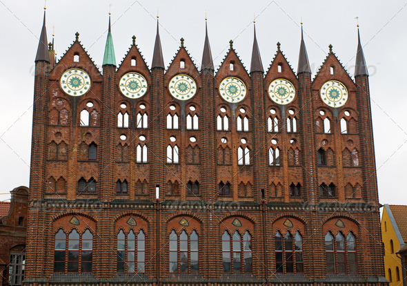 Townhall of Stralsund - Stock Photo - Images