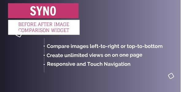 SYNO Before After Image Comparison Plugin