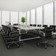 3d rendering business meeting room on high rise office building - PhotoDune Item for Sale