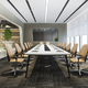 3d rendering business meeting room on high rise office building near reception - PhotoDune Item for Sale