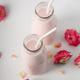 Moon milk prepares with pink rose flower - PhotoDune Item for Sale