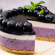 Round blueberry vegan cheesecake - PhotoDune Item for Sale