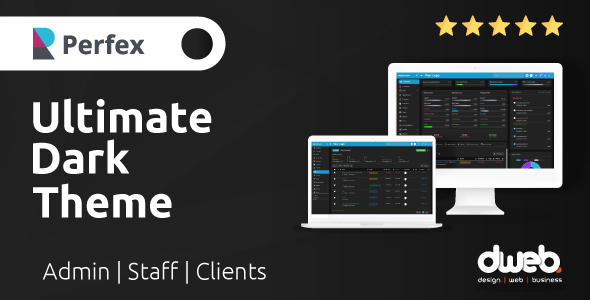 Download Ultimate Dark Theme – Perfex CRM Free Nulled