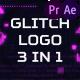 Glitch Logo Pack - VideoHive Item for Sale
