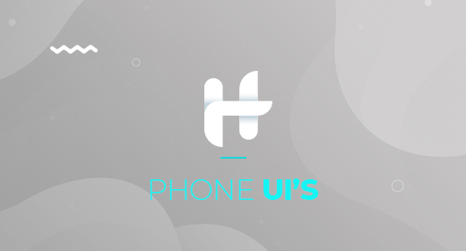 Phone UI's