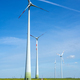 Modern wind energy generators and a country road - PhotoDune Item for Sale