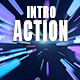 Action Electronic Intro Logo