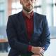 Waist Up Portrait of Mature Bearded Businessman - PhotoDune Item for Sale