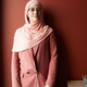 Portrait of Woman Wearing Headscarf in Office - PhotoDune Item for Sale
