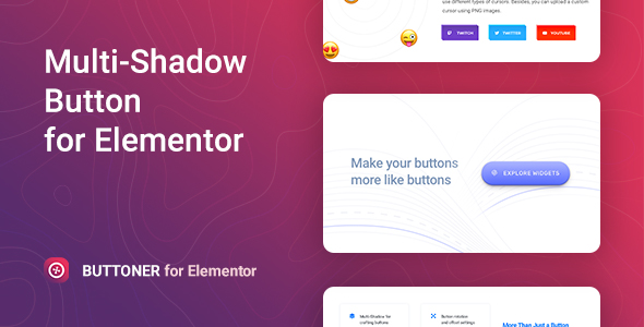 Download Buttoner – Multi-shadow Button for Elementor Free Nulled