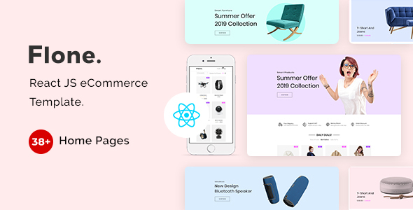 Flone - React JS eCommerce Template