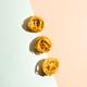 Pasta art with tagliatelle on pastel duotone background - PhotoDune Item for Sale