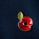 Red Poppy Pin as a Symbol of Remembrance Day - PhotoDune Item for Sale