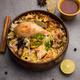 Chicken Biryani with yogurt dip - Popular Indian / pakistani Non vegetarian food - PhotoDune Item for Sale