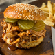 Homemade BBQ Pulled Chicken Sandwich - PhotoDune Item for Sale
