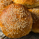 Homemade Sesame Seed Hamburger Buns - PhotoDune Item for Sale