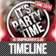 It's Party Time Facebook Timeline - GraphicRiver Item for Sale