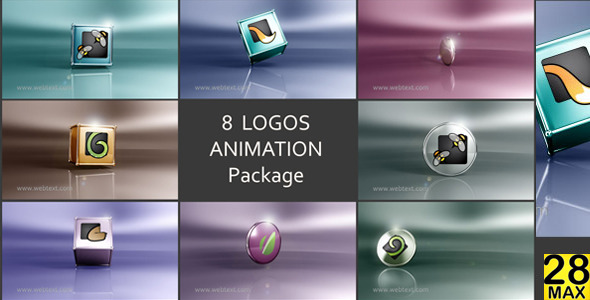 8 Logos Animation AE Project by max28 | VideoHive