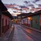 Empty Town Street at Dawn - PhotoDune Item for Sale