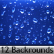12 Sunshine water drops backgrounds - GraphicRiver Item for Sale