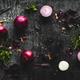 onions on black wood table background - PhotoDune Item for Sale