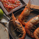 Grilled shrimp with spicy dipping sauce - PhotoDune Item for Sale