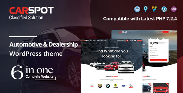 CarSpot – Dealership Wordpress Classified Theme