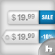 36 Price-Tags: Colored / Glass / Metal - GraphicRiver Item for Sale