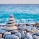 Zen balanced stones stack on beach - PhotoDune Item for Sale