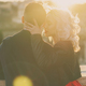 Happy young couple during holiday in Rome on the sunset, Italy - PhotoDune Item for Sale