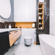 Modern new luxury bathroom. Interior design - PhotoDune Item for Sale