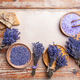 Plates with dried lavender - PhotoDune Item for Sale