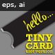 Tiny Card - Slot Version - GraphicRiver Item for Sale