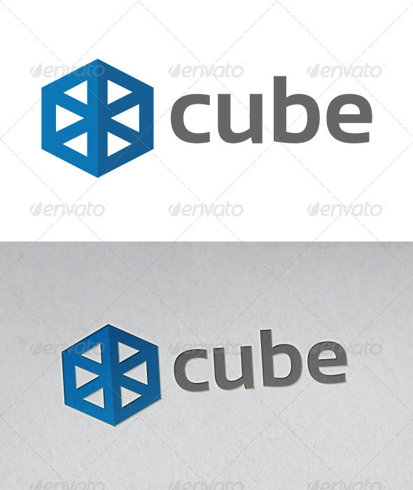 Cube Logo - Abstract Logo Templates