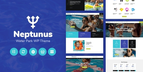 Download Neptunus – Water Park WordPress Theme Free Nulled