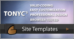Tonyc's Site Templates