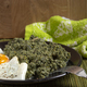 Nettles stew with a fried egg - PhotoDune Item for Sale