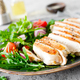 Chicken fillet salad with fresh vegetables and arugula - PhotoDune Item for Sale