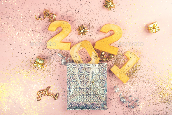 Happy New Year 2021 - Stock Photo - Images