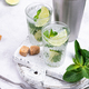 Summer cocktail with lime and mint - PhotoDune Item for Sale