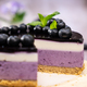 Round blueberry vegan cheesecake - PhotoDune Item for Sale