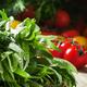 Fresh green tarragon, cherry tomatoes - PhotoDune Item for Sale