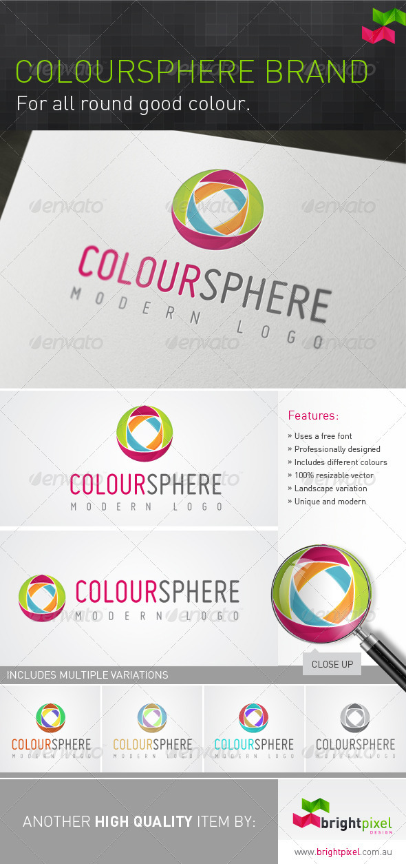 Coloursphere Brand - Vector Abstract